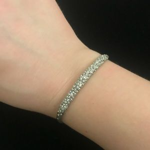 NWOT Alexis Bittar Pave Crystal Cuff